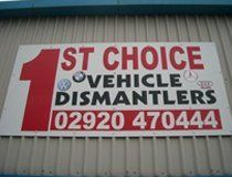 Vehicle scrap yard and spare parts for sale in cardiff for First choice mobile site