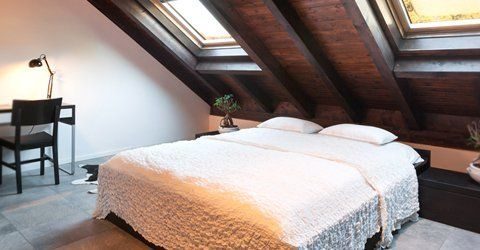 Loft as an extra bedroom