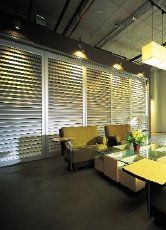 Window covering services for commercial