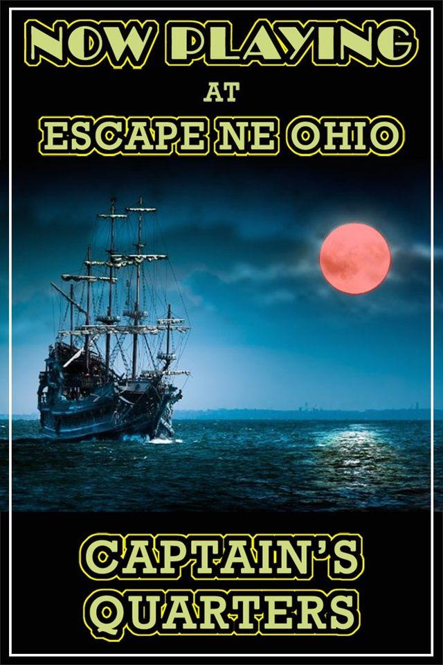 Escape NE Ohio - Captain's Quarters