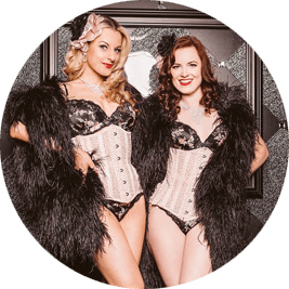 Cross-country burlesque performance
