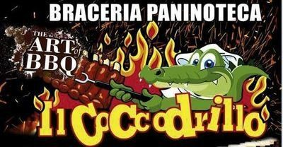 BRACERIA PANINOTECA il coccodrillo - logo