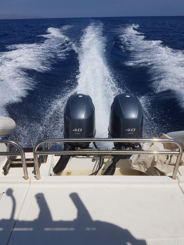 motori di una barca