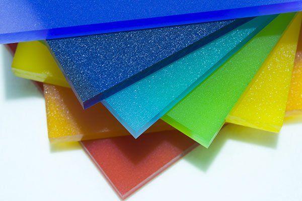lastre di plexiglas colorato