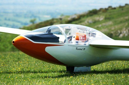 Mendip gliding recreational activity