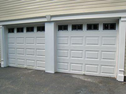 Garage Door Installed By Arrow Home Improvement Nau County Suffolk Long Island Double Front