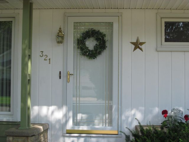 Professional installed entry door for a customer's house in Wisconsin Rapids, WI