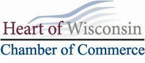 Heart of Wisconsin Chamber of commerce logo
