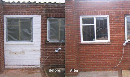 Chemical wall treatment
