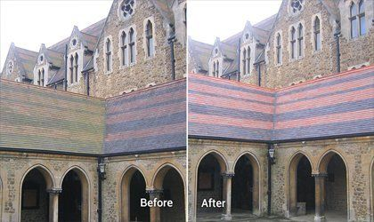 Thorough cleaning using Doff cleaning method