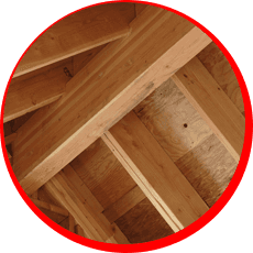 TImber structure cleaning
