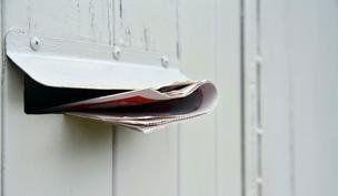 Distribuzione in cassetta postale