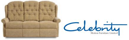 Celebrity recliner sofa