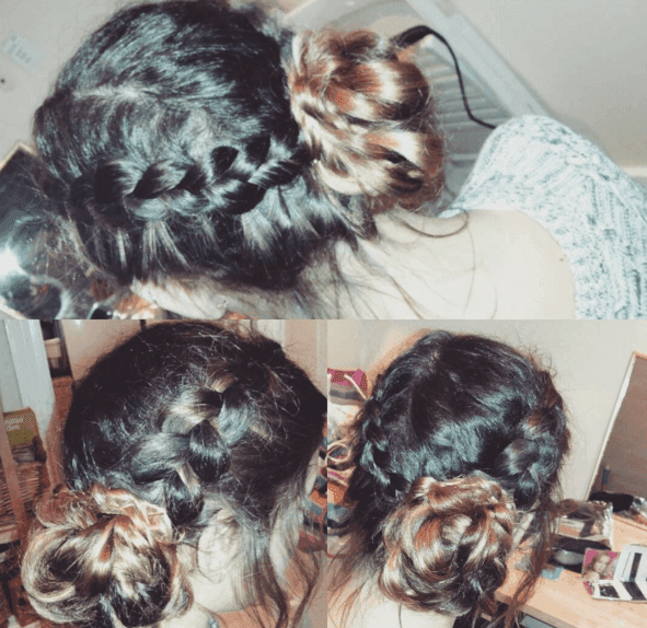 mobile hairdresser who can braid hair