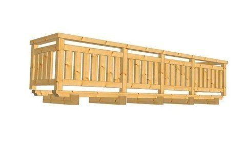 balconi in legno, realizzazione balconi