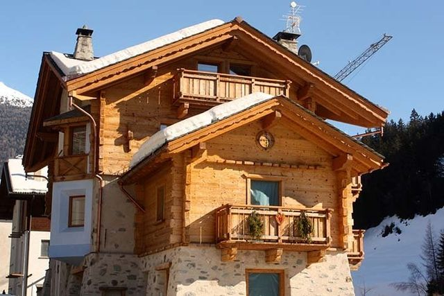 tetti, balconi in legno, strutture prefabbricate