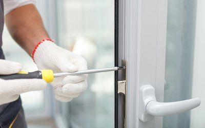 door lock fitting