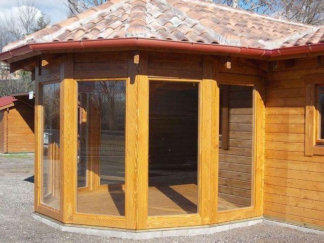 Tettoie in legno tivoli rm famco case di legno for Case di legno rumene