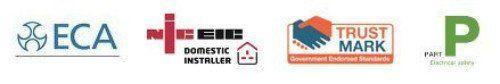 NICEIC TRUSTMARK ECA logos