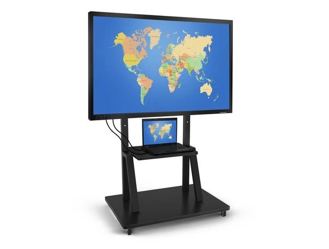"""HT Infrared Interactive Multi Touch Display with Stand 84"""""""