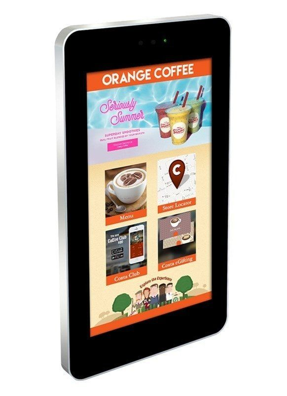 HT Outdoor PCAP Wall-Mounted Multi Touch Screen Display 84