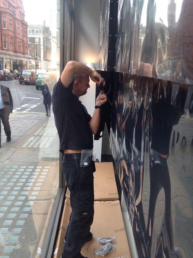 Display Screen installation