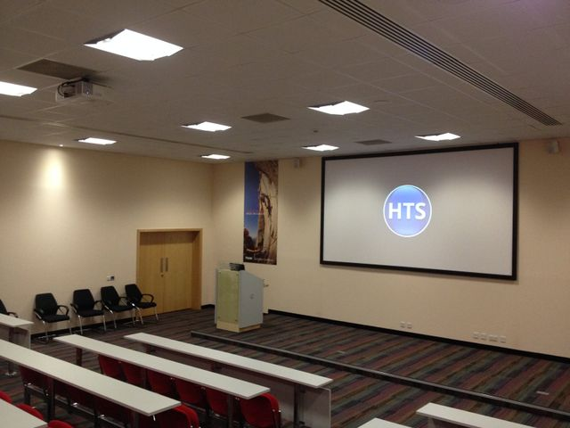 Lecture Theatre Projector install