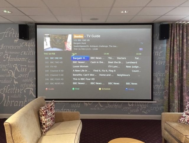 Public Sector audio visual design and installation in