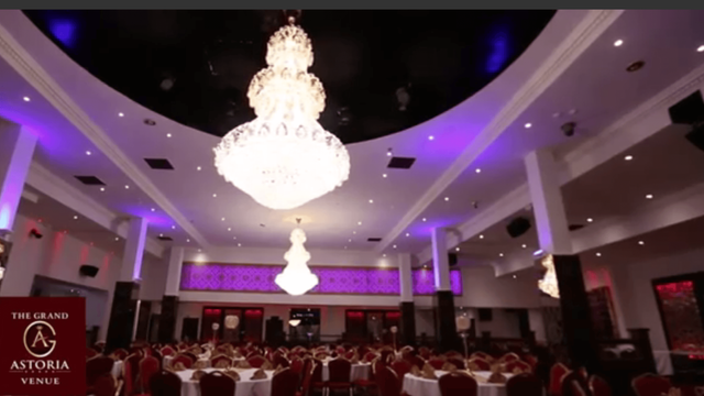 event dining area