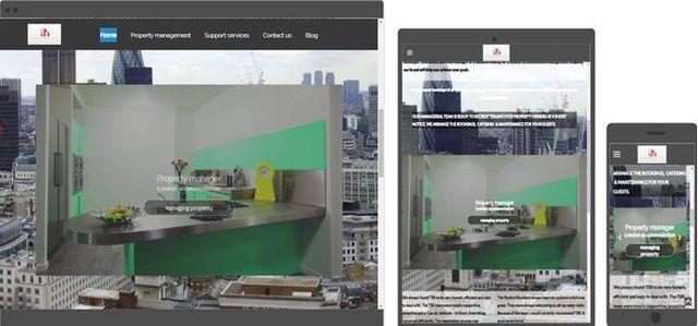 student residence property web design
