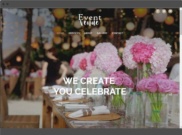 event venue design customised
