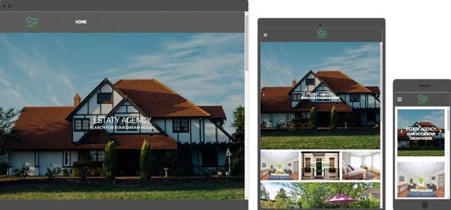 website design estate agency