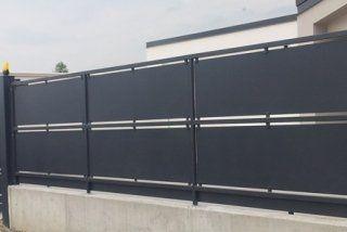 recinzioni con tamponamento in lamiera