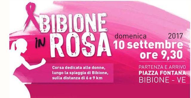Bibione in rosa 2017