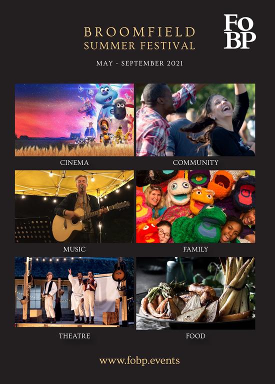 Broomfield Summer Festival flyer