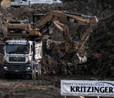 materiali edili, materiali per scavi, forniture edili