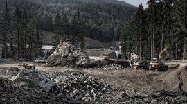 lavori di scavo, livellamenti, costruzione strade