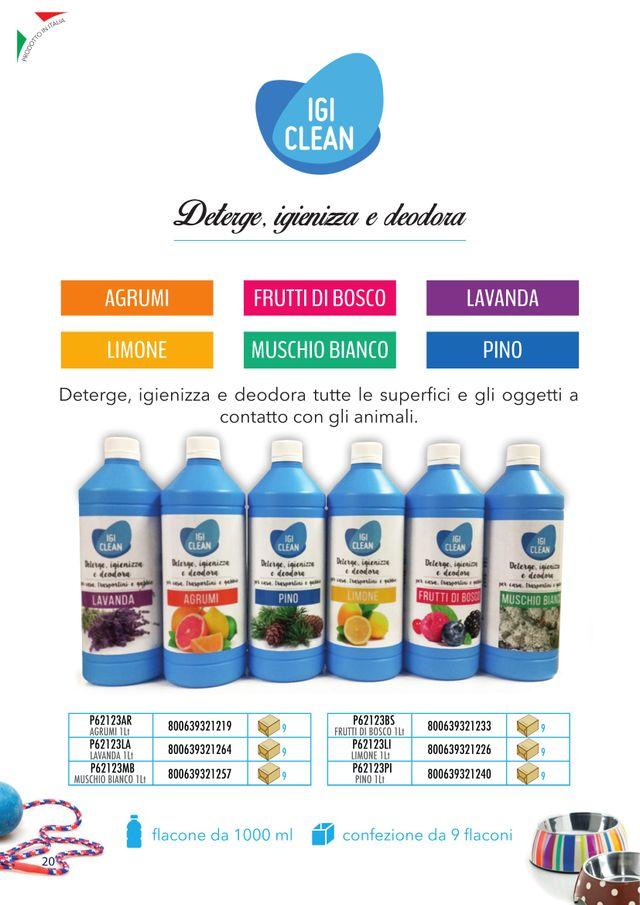 IGI CLEAN deterge igienizza e deodora