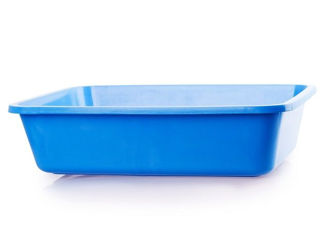 lettiera blu