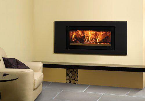 Riva Studio 2 Steel Multi-Fuel Contemporary Fire Surround