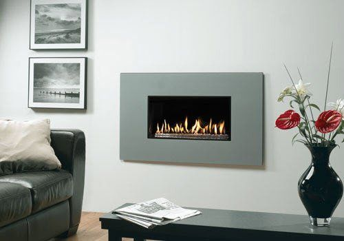 Studio 1 Steel Gas Fire