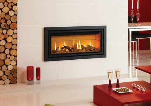 Studio 2 Profil Glass Gas Fire