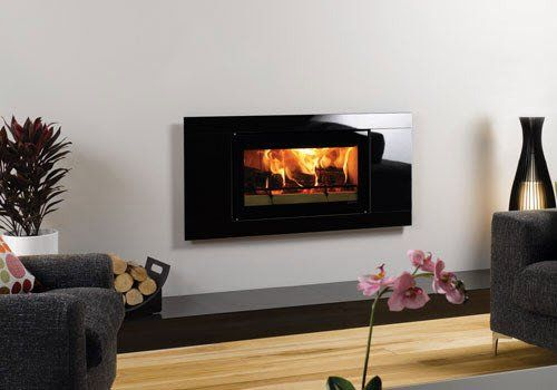 Riva Studio 1 Glass Contemporary Wood Burning Stove
