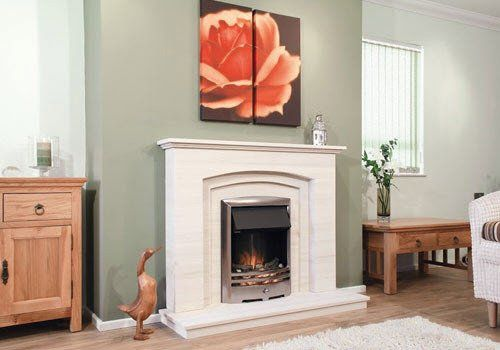 Silver Coast Fire Surround