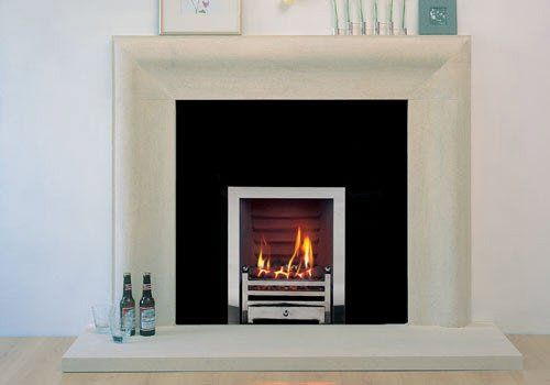 Contemporary Curved Fire Surround
