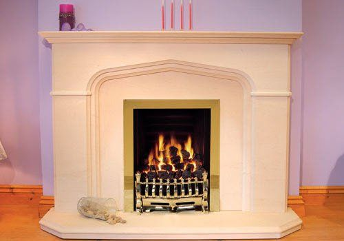 Tudor Fire Surround