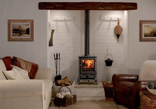 Brunel Black Stove Wood Burning Stove