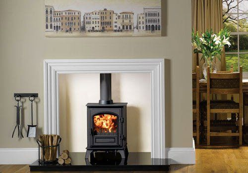 Riva Plus Small Log Burner
