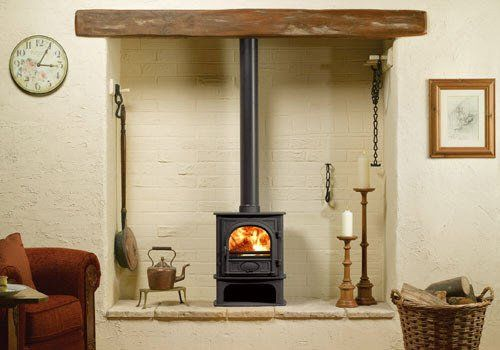 Stockton 5 Traditional Multi-Fuel Stove