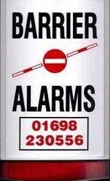 BARRIER ALARMS logo